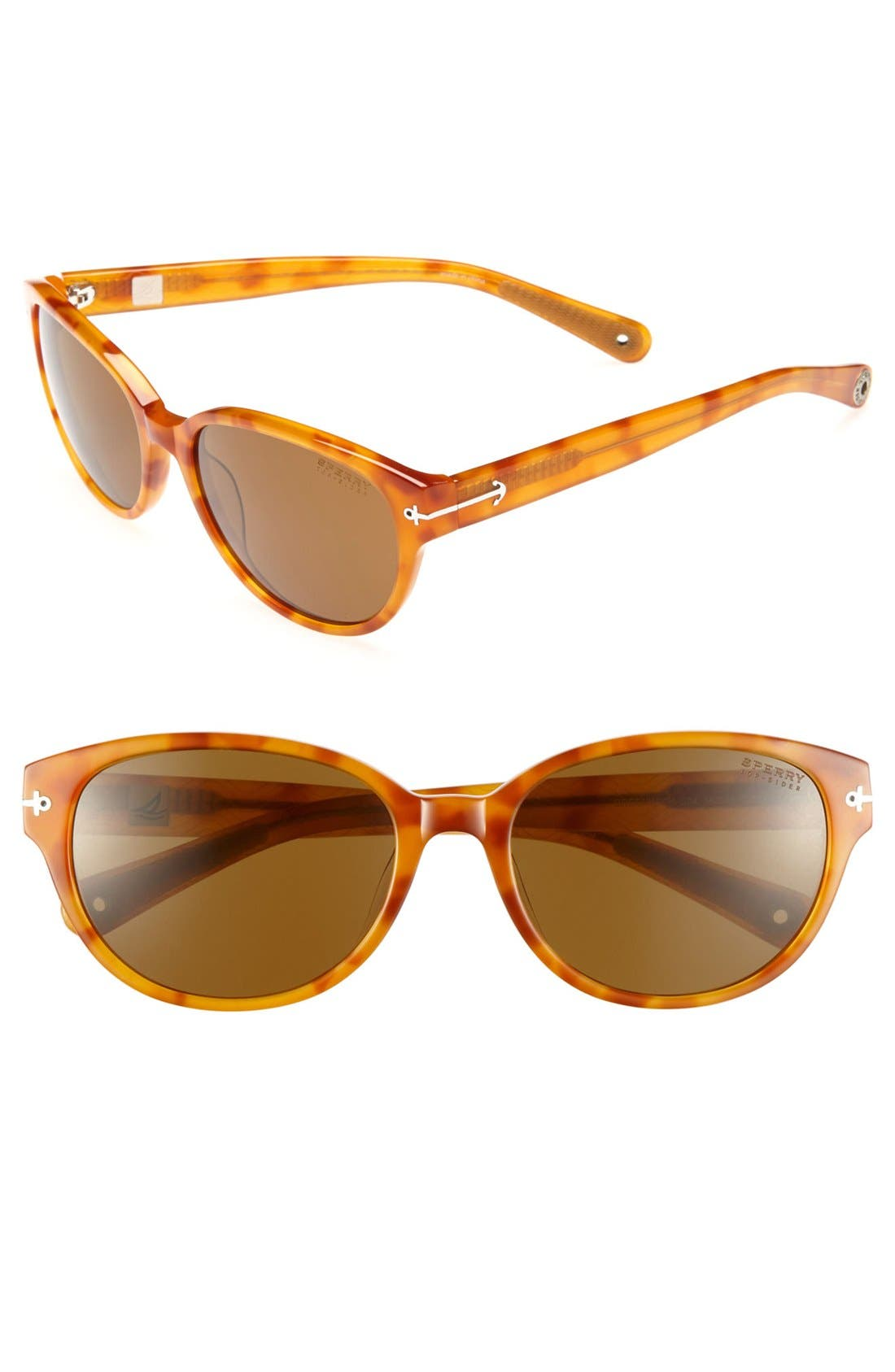Alternate Image 1 Selected - Sperry Top-Sider® 'Greenwich' 56mm Sunglasses (Online Only)