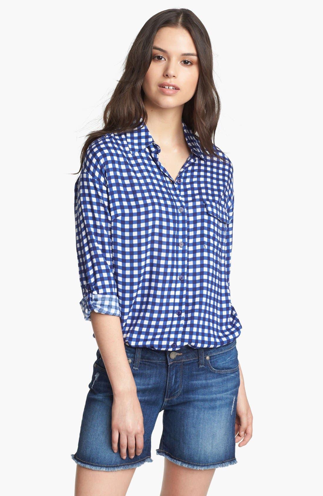 Alternate Image 1 Selected - Splendid Gingham Check Shirt