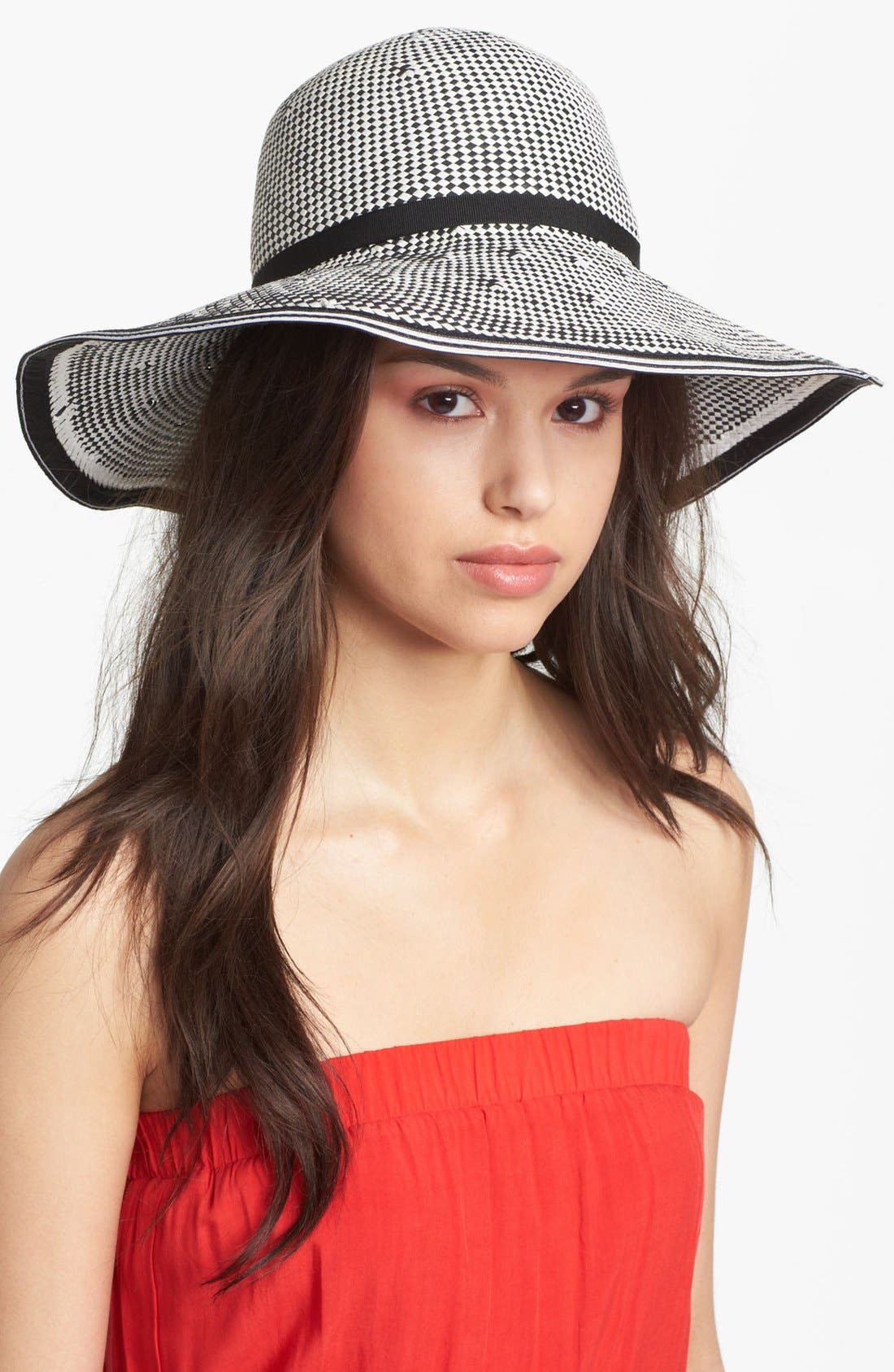 Alternate Image 1 Selected - Nordstrom 'Optic' Wide Brim Hat