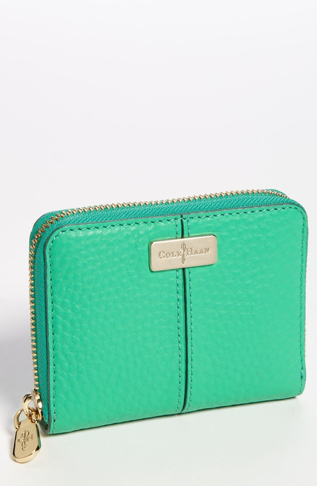 Main Image - Cole Haan 'Medium' Leather Zip Wallet