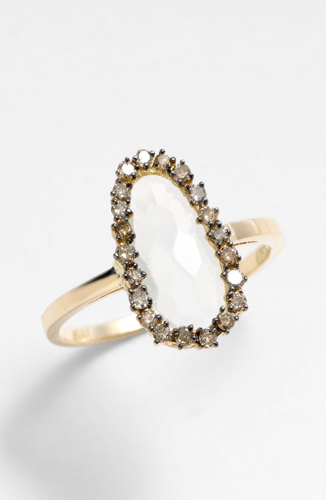 Alternate Image 1 Selected - KALAN by Suzanne Kalan Pear Stone Ring