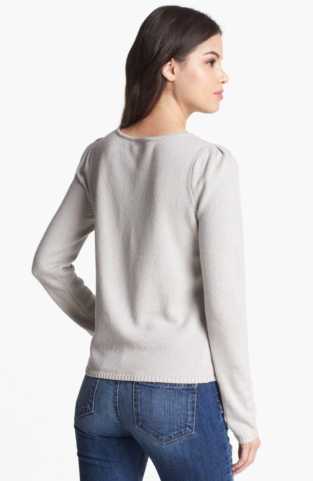 Alternate Image 2  - Hinge® Jewel Embellished Sweater