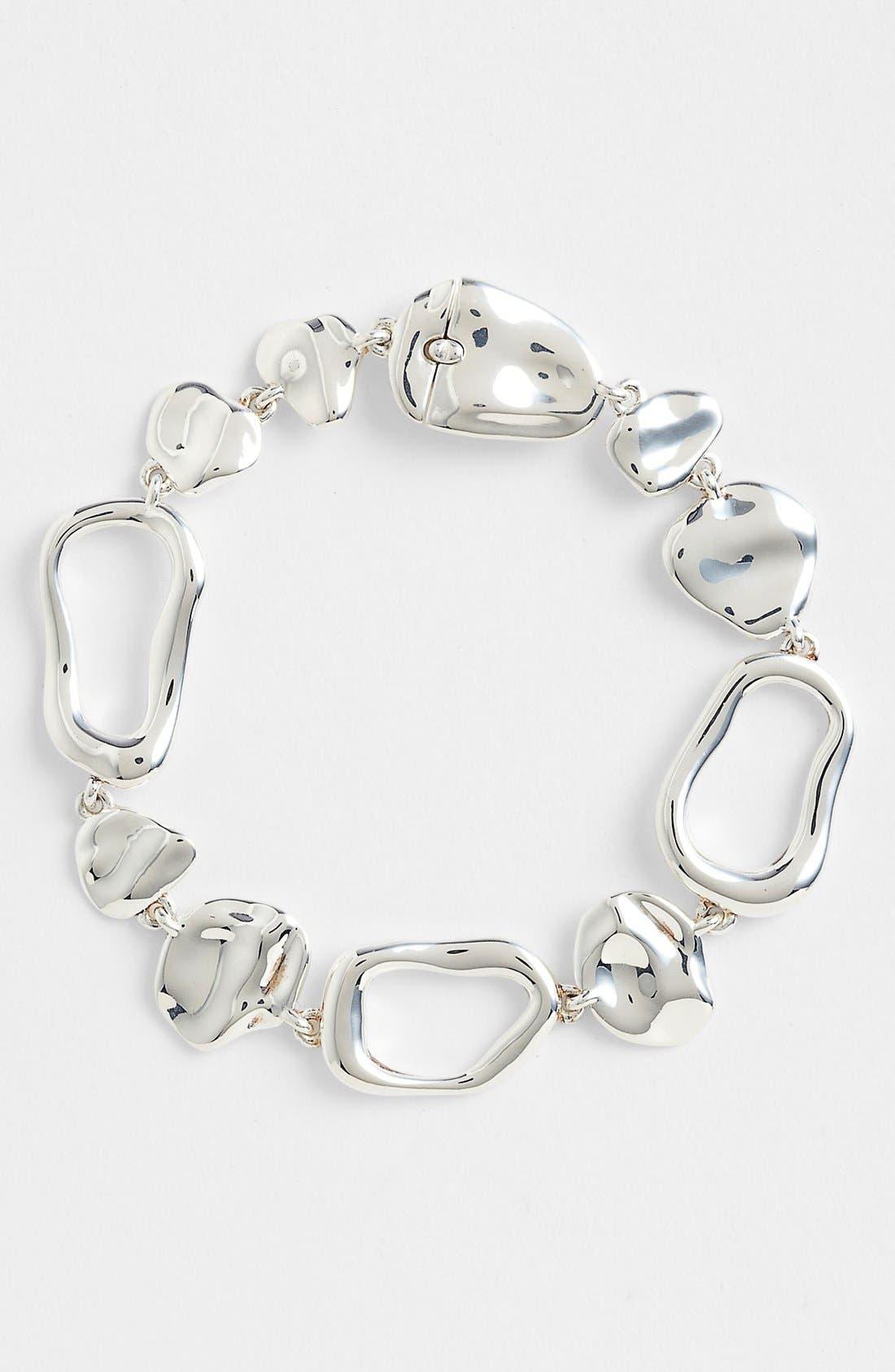 Alternate Image 1 Selected - Nadri 'Sculpted' Sterling Silver Line Bracelet