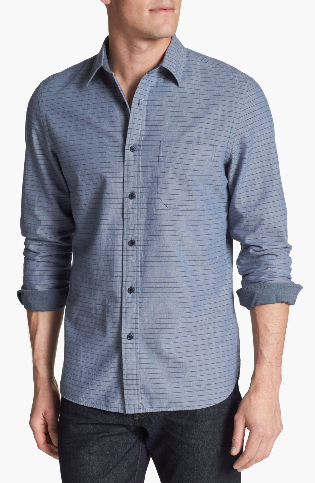 Alternate Image 1 Selected - Wallin & Bros. Trim Fit Sport Shirt