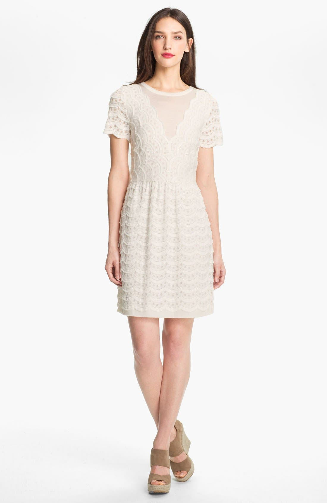 Alternate Image 1 Selected - MARC BY MARC JACOBS Knit Cotton Blend Dress