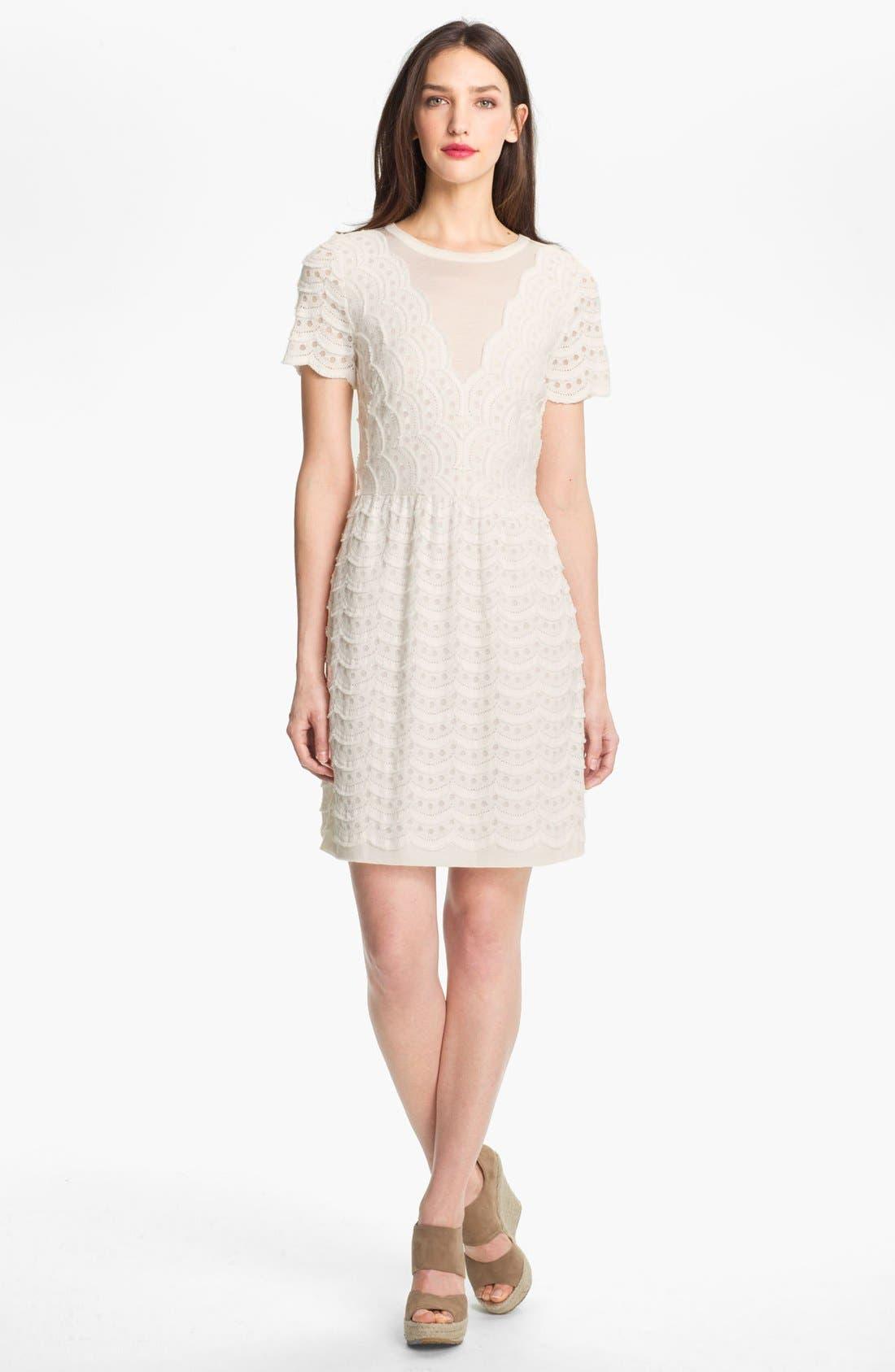 Main Image - MARC BY MARC JACOBS Knit Cotton Blend Dress
