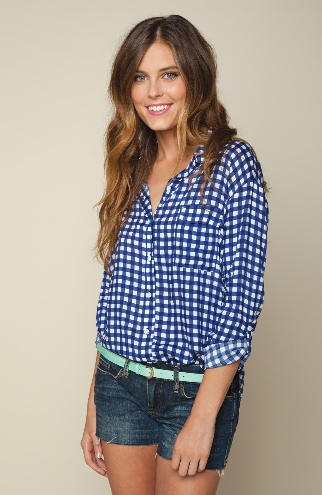 Alternate Image 4  - Splendid Gingham Check Shirt