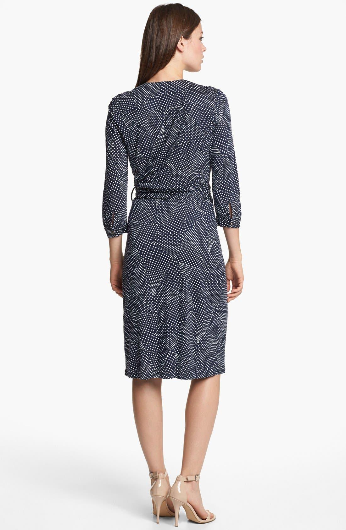 Alternate Image 2  - BOSS HUGO BOSS Jersey Wrap Dress