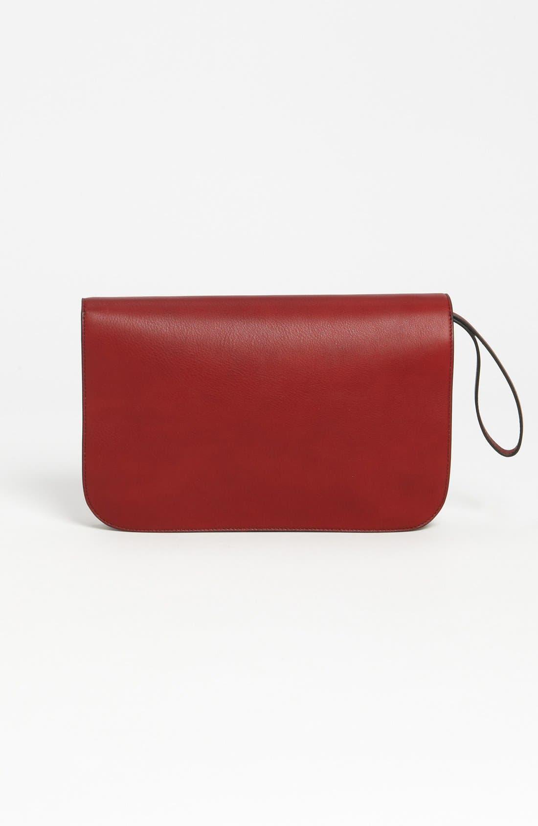 Alternate Image 4  - Fendi '2Jours Colorblock' Leather Clutch