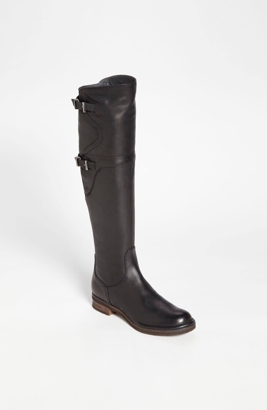 Alternate Image 1 Selected - Alberto Fermani Tall Leather Boot (Online Only)