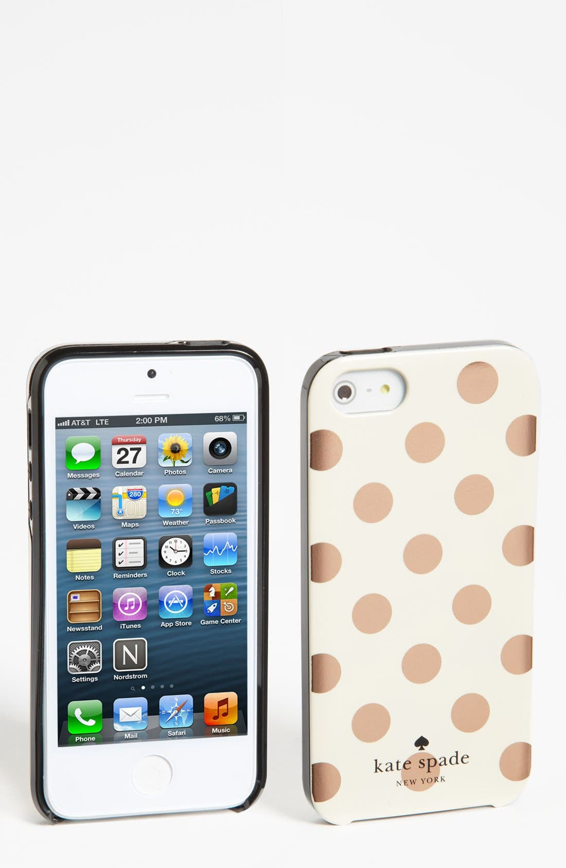 Alternate Image 1 Selected - kate spade new york 'le pavillion' iPhone 5 & 5S case