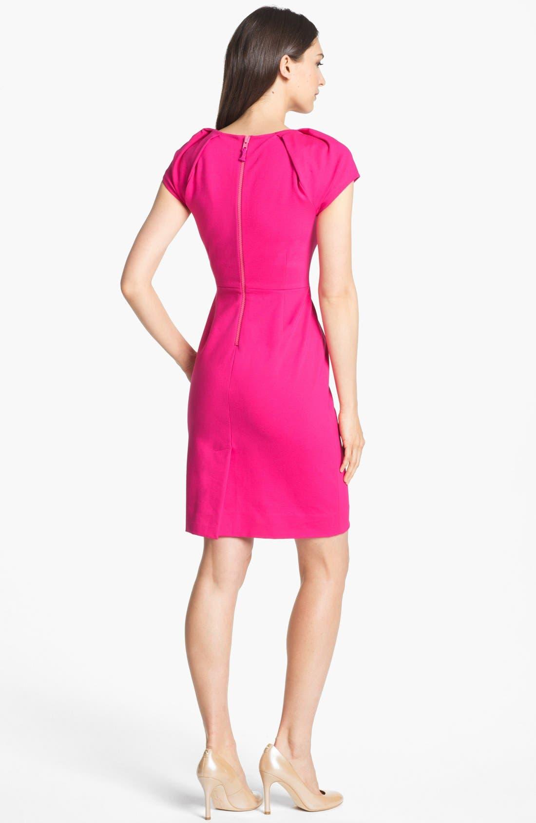Alternate Image 2  - kate spade new york 'ivie' stretch sheath dress (Online Only)