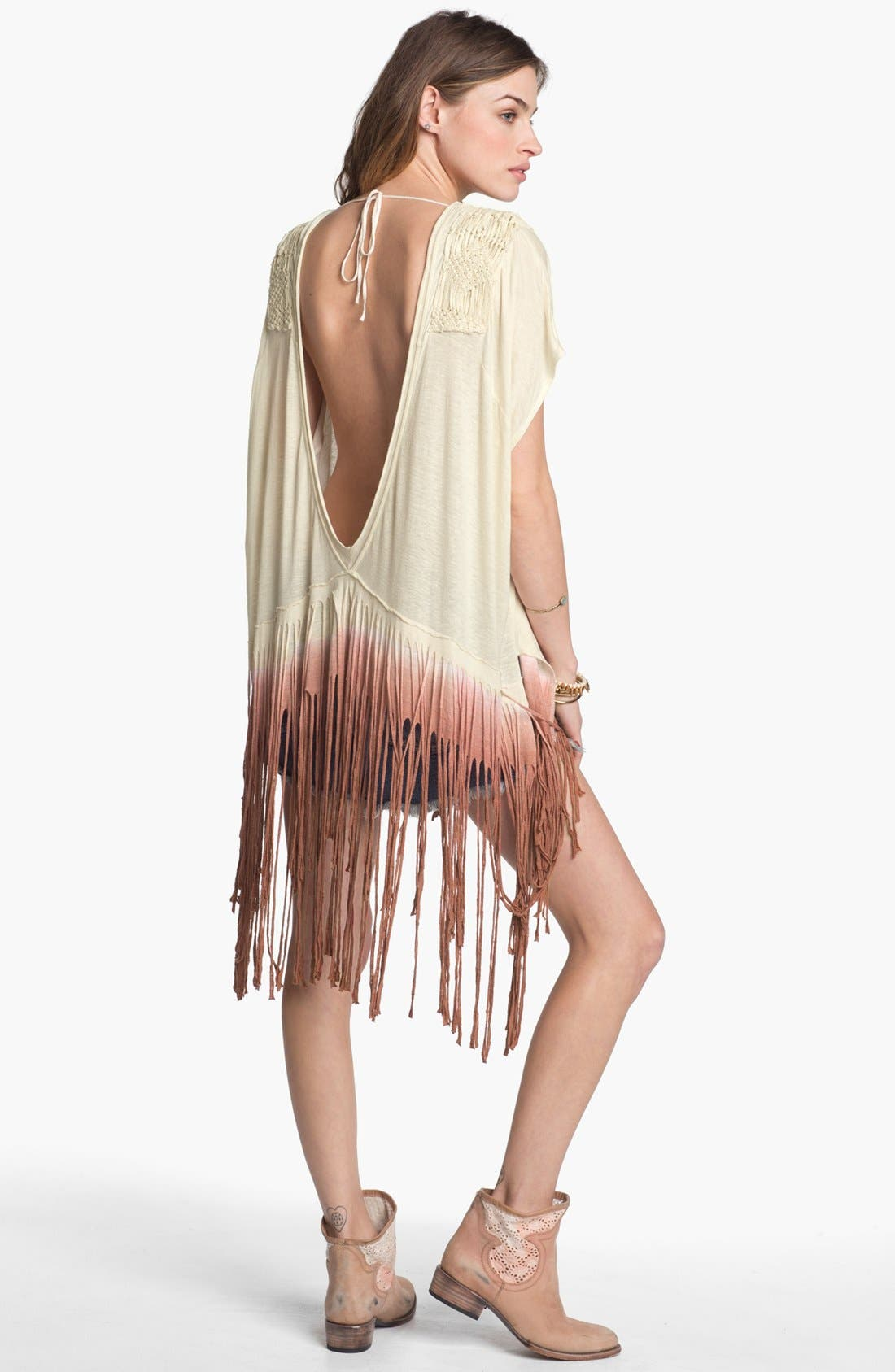 Alternate Image 2  - Free People 'Rough Rider' Ombré Tee