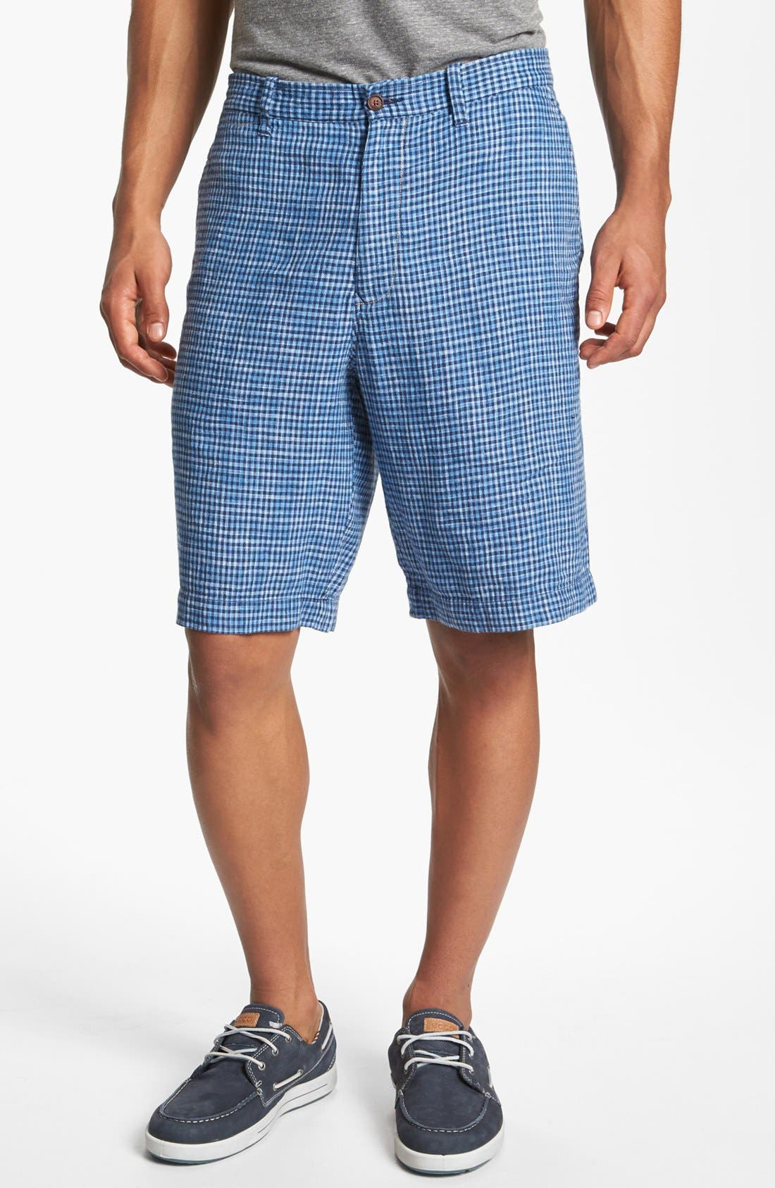 Alternate Image 1 Selected - Tommy Bahama 'Checka Colada' Shorts