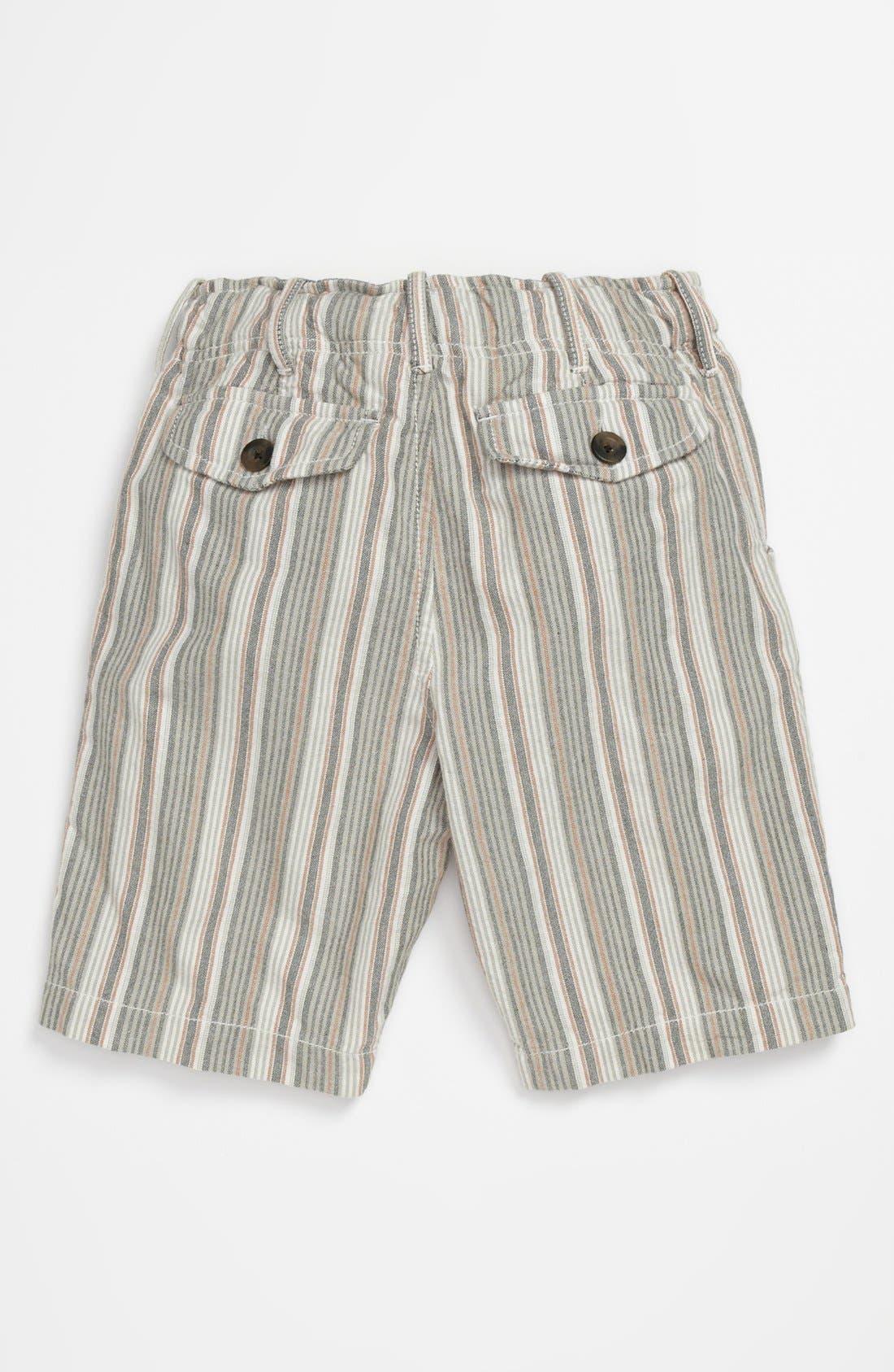 Alternate Image 2  - Peek 'Benito' Stripe Shorts (Big Boys)