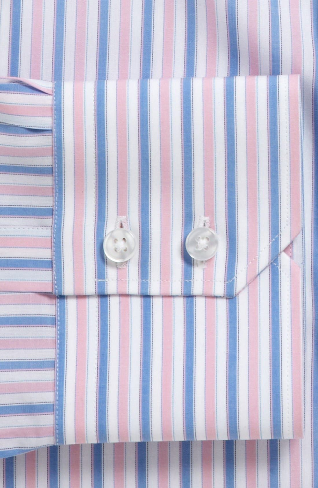 Alternate Image 2  - Thomas Pink Slim Fit Dress Shirt