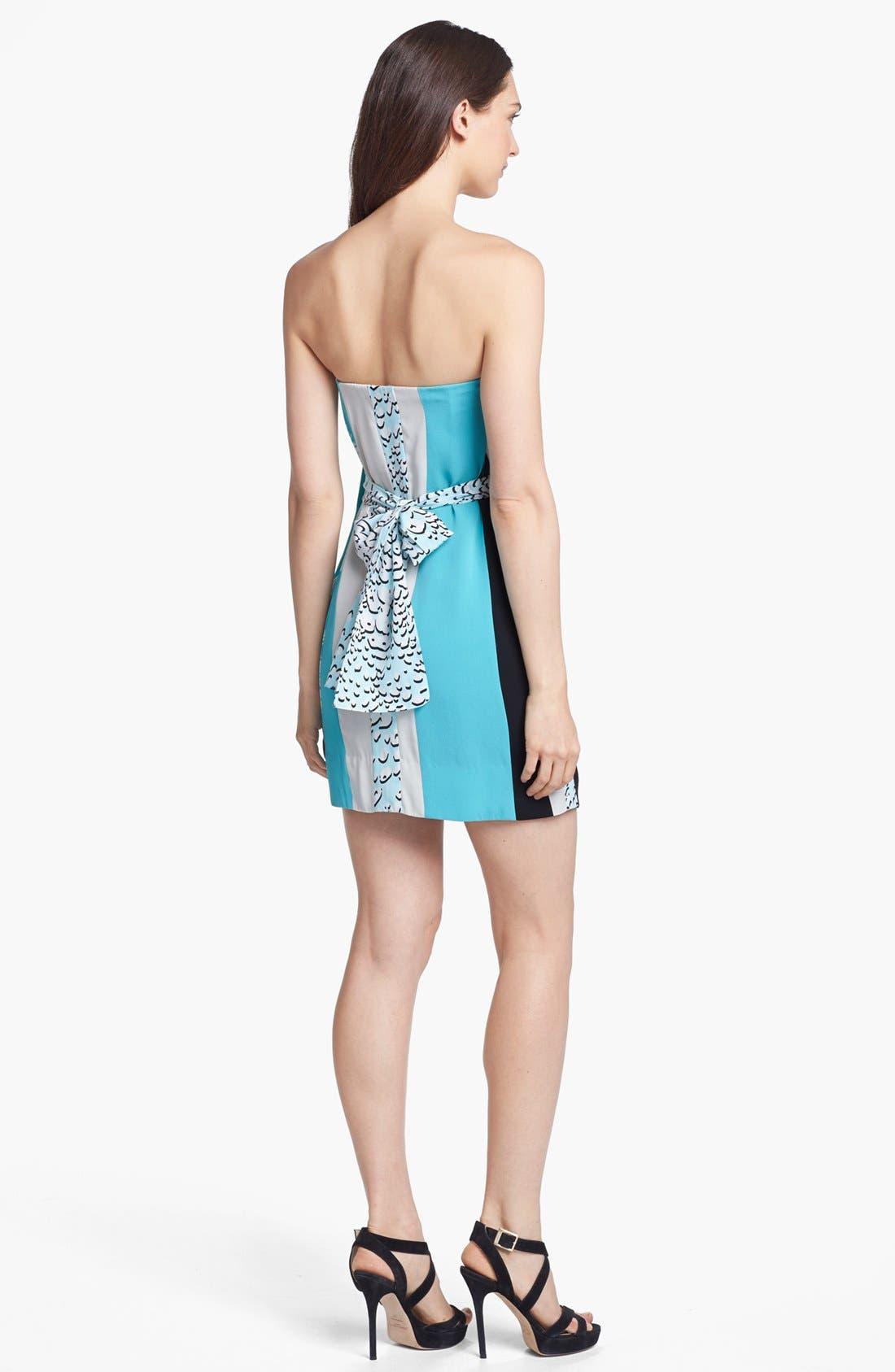 Alternate Image 2  - Diane von Furstenberg 'Rhirhi' Silk Minidress