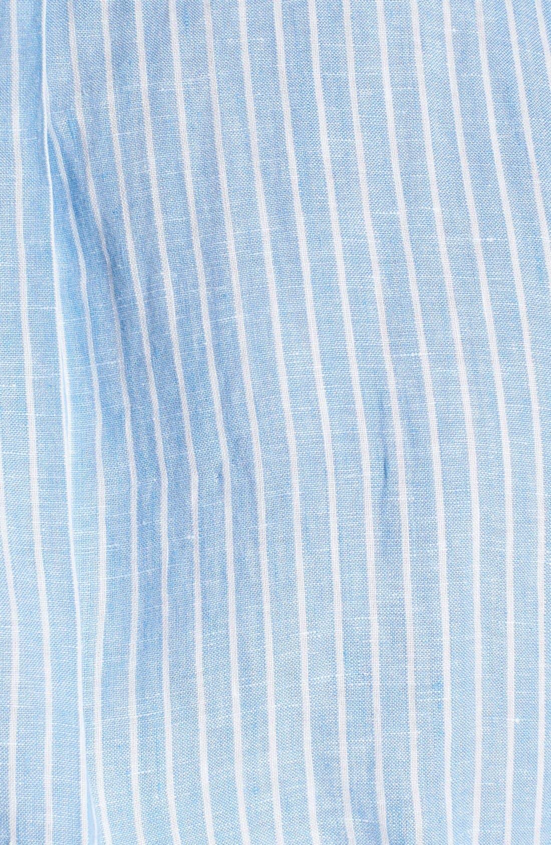 Alternate Image 3  - Polo Ralph Lauren Classic Fit Linen Sport Shirt