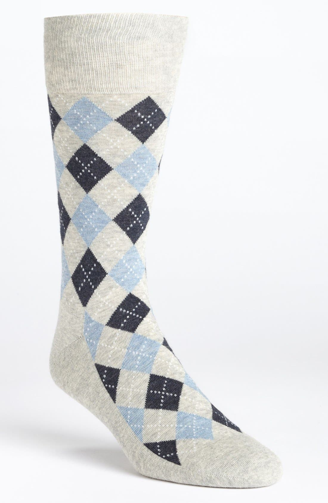 Alternate Image 1 Selected - Nordstrom Argyle Socks