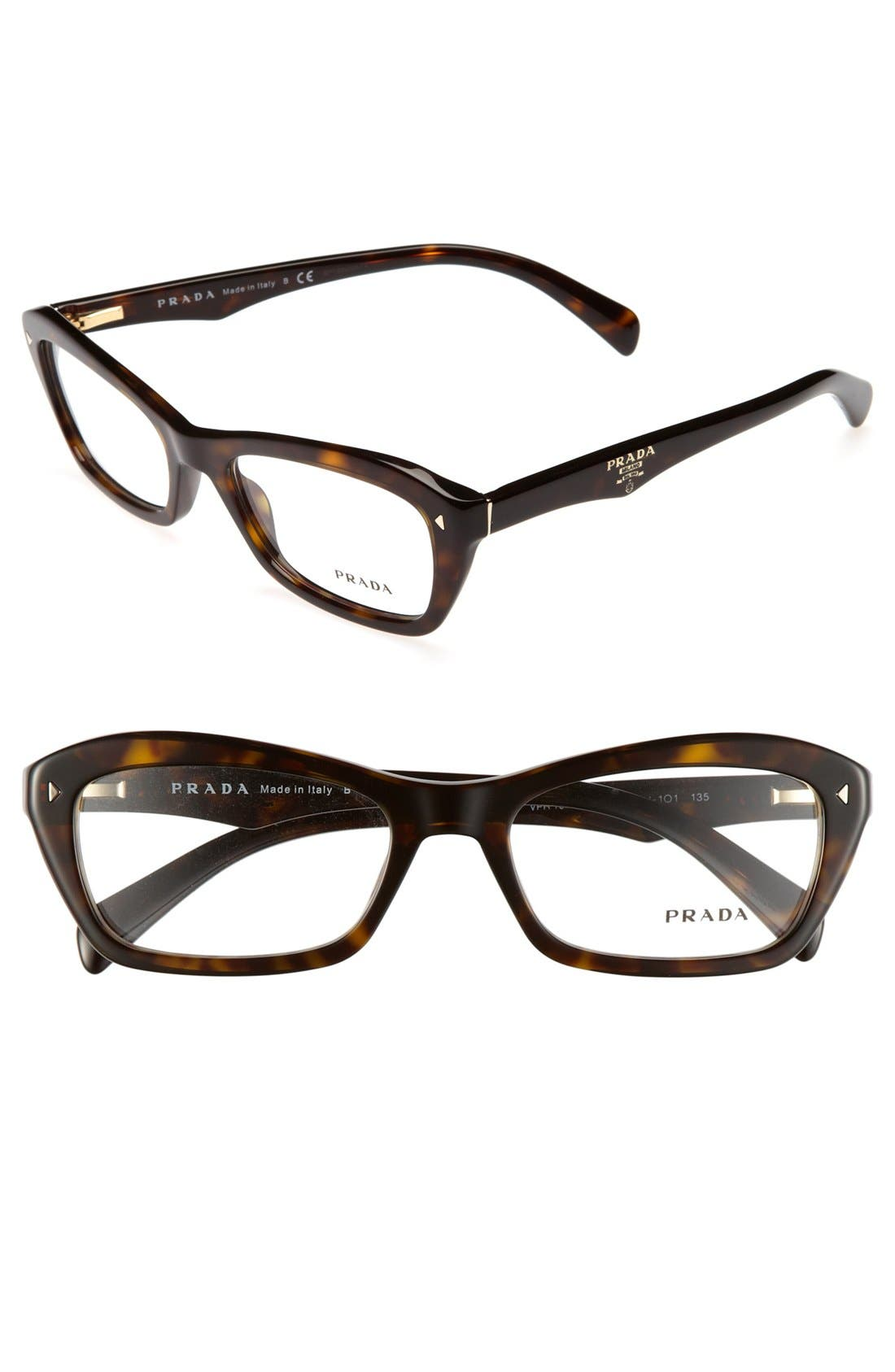 Main Image - Prada 53mm Optical Glasses (Online Only)
