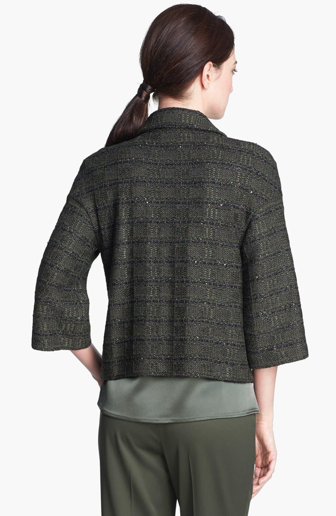 Alternate Image 4  - St. John Collection Sequin Tweed Knit Jacket