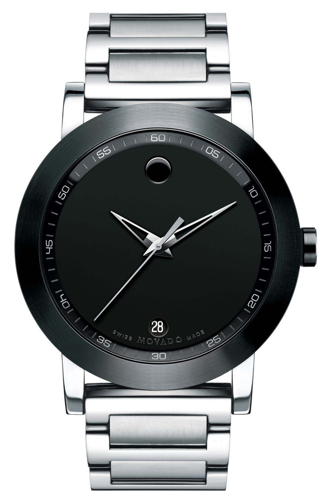 MOVADO Museum Sport Watch, 42mm