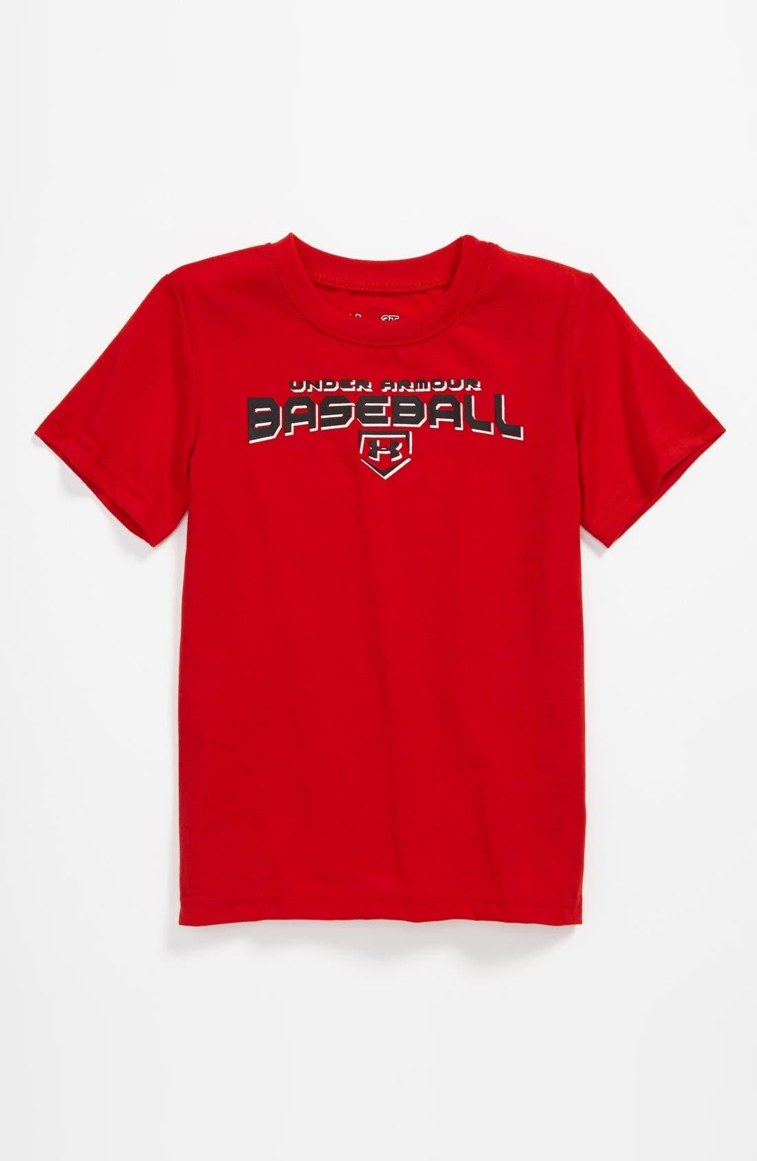 Alternate Image 1 Selected - Under Armour 'Baseball' T-Shirt (Toddler)
