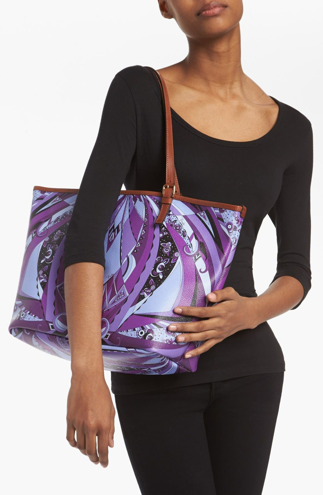 Alternate Image 2  - Emilio Pucci 'Chicago Piazzato - Medium' Tote