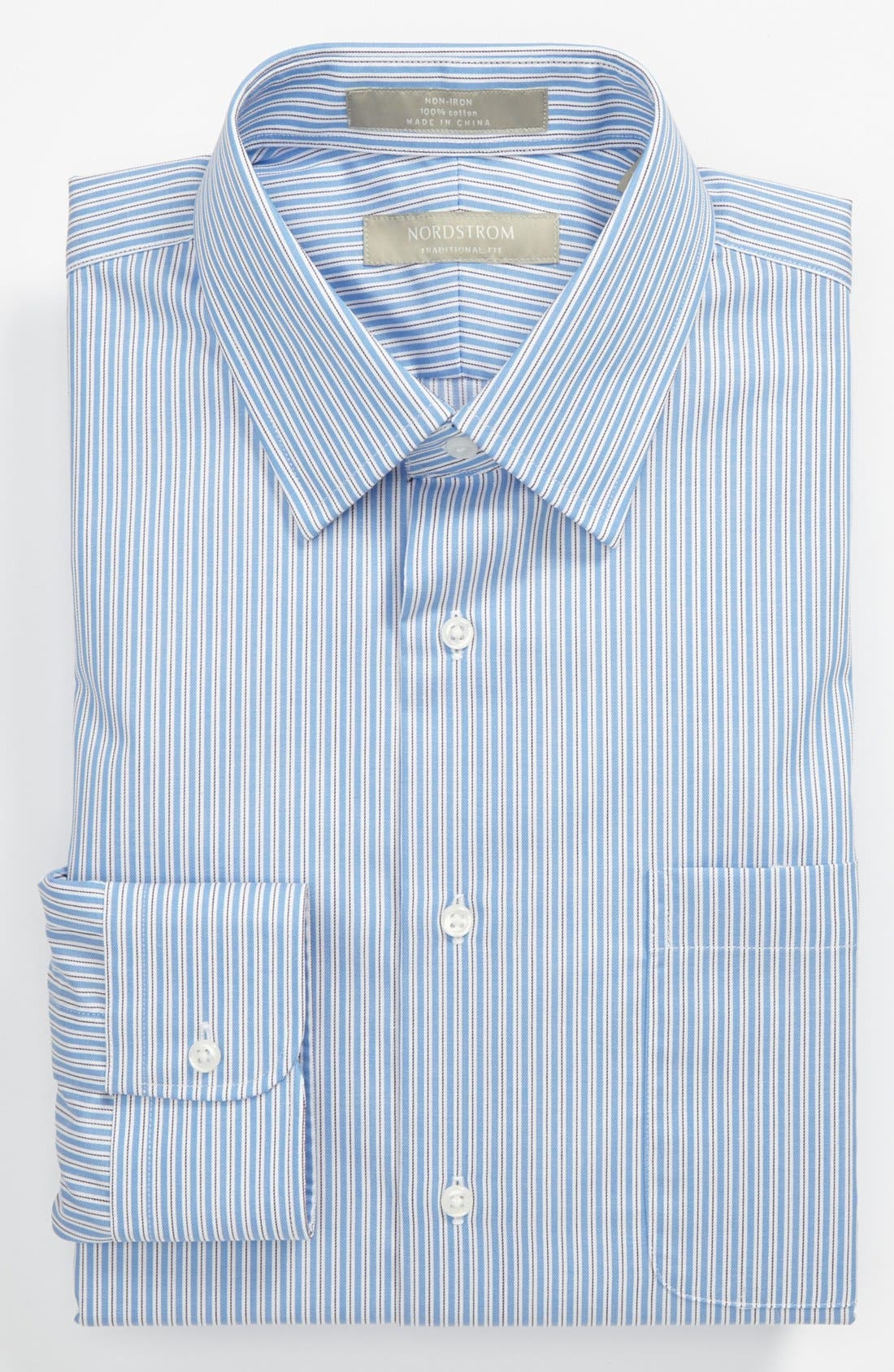 Alternate Image 1 Selected - Nordstrom Traditional Fit Dress Shirt