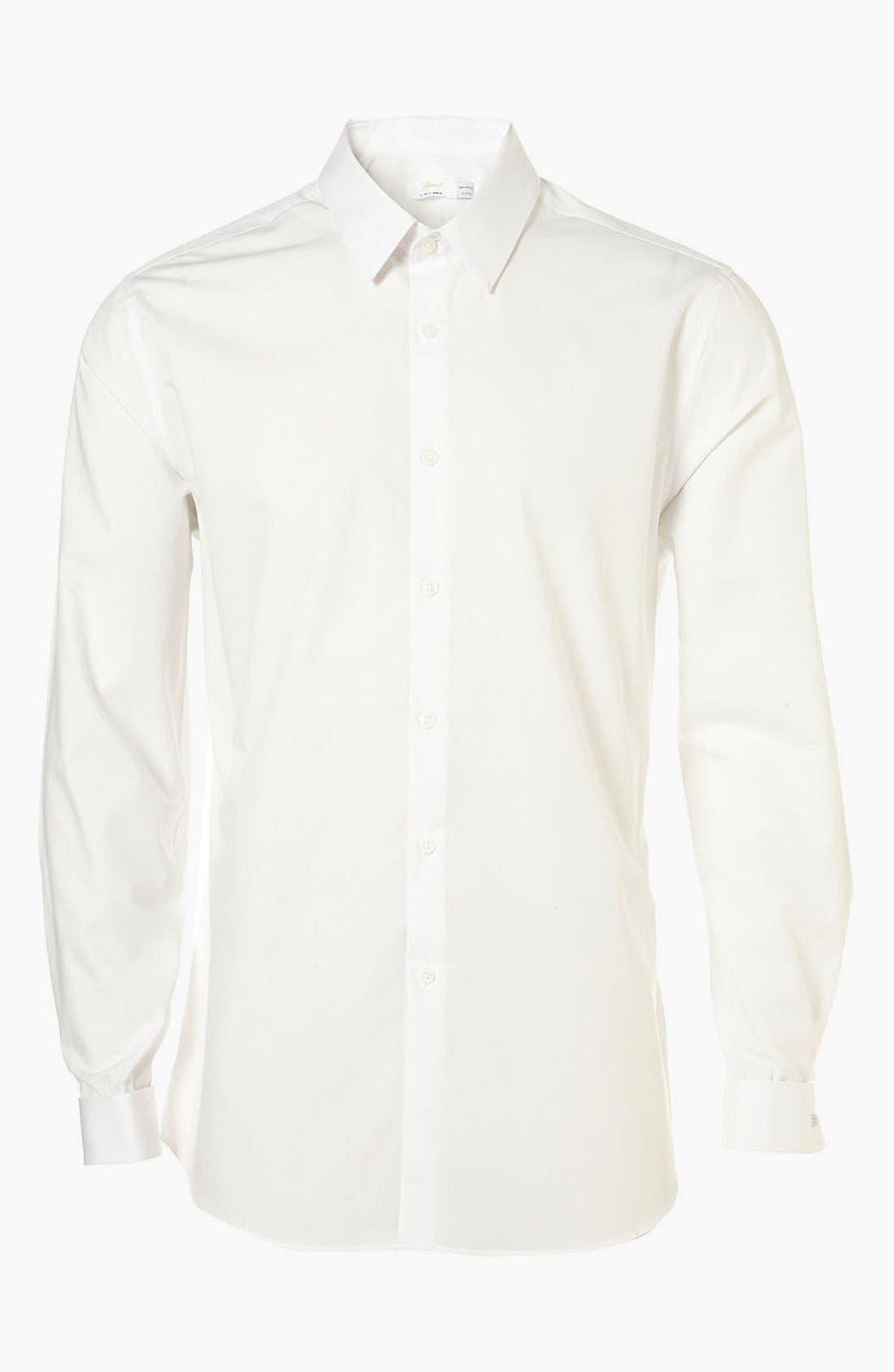 Alternate Image 1 Selected - Topman 'Smart' Slim Fit Dress Shirt
