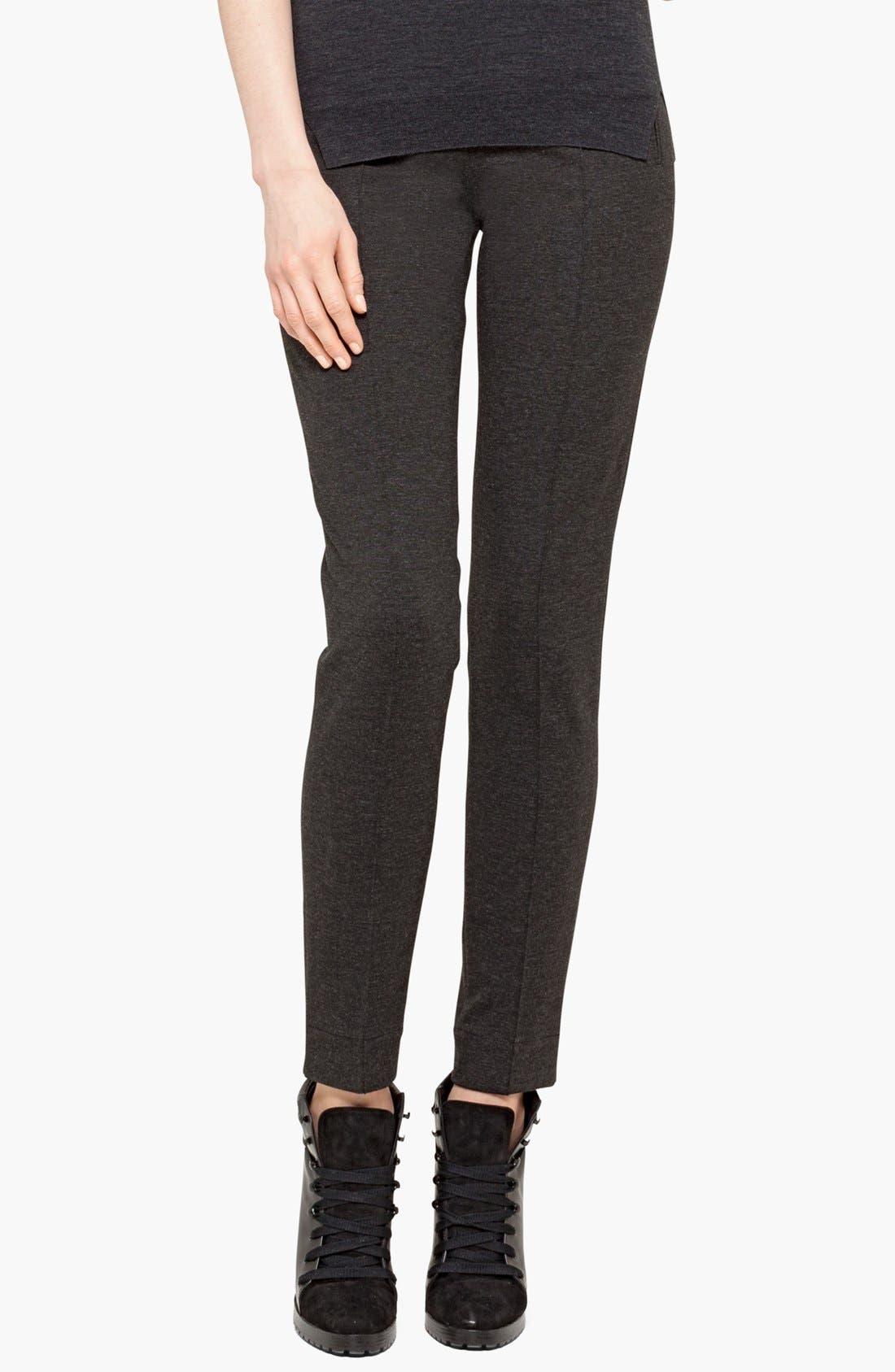Alternate Image 1 Selected - Akris punto Slim Jersey Pants