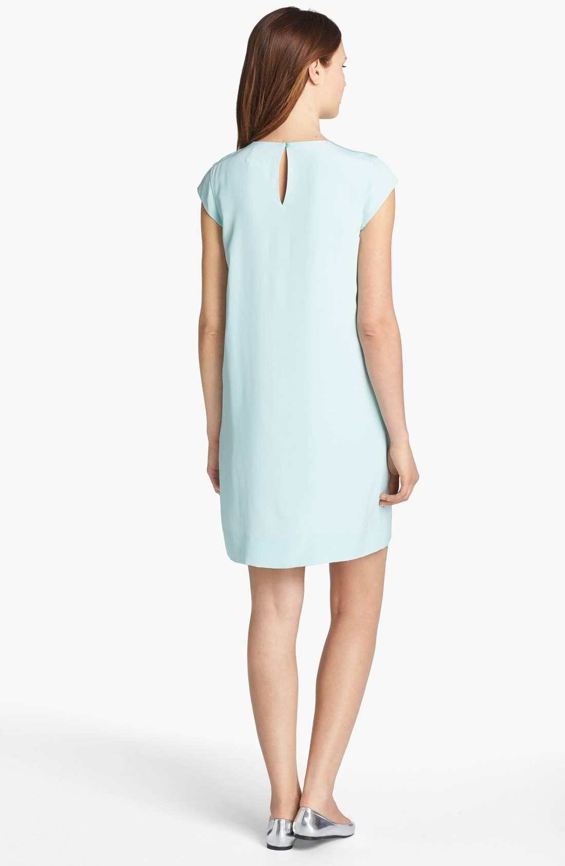 Alternate Image 2  - kate spade new york 'karine' silk shift dress