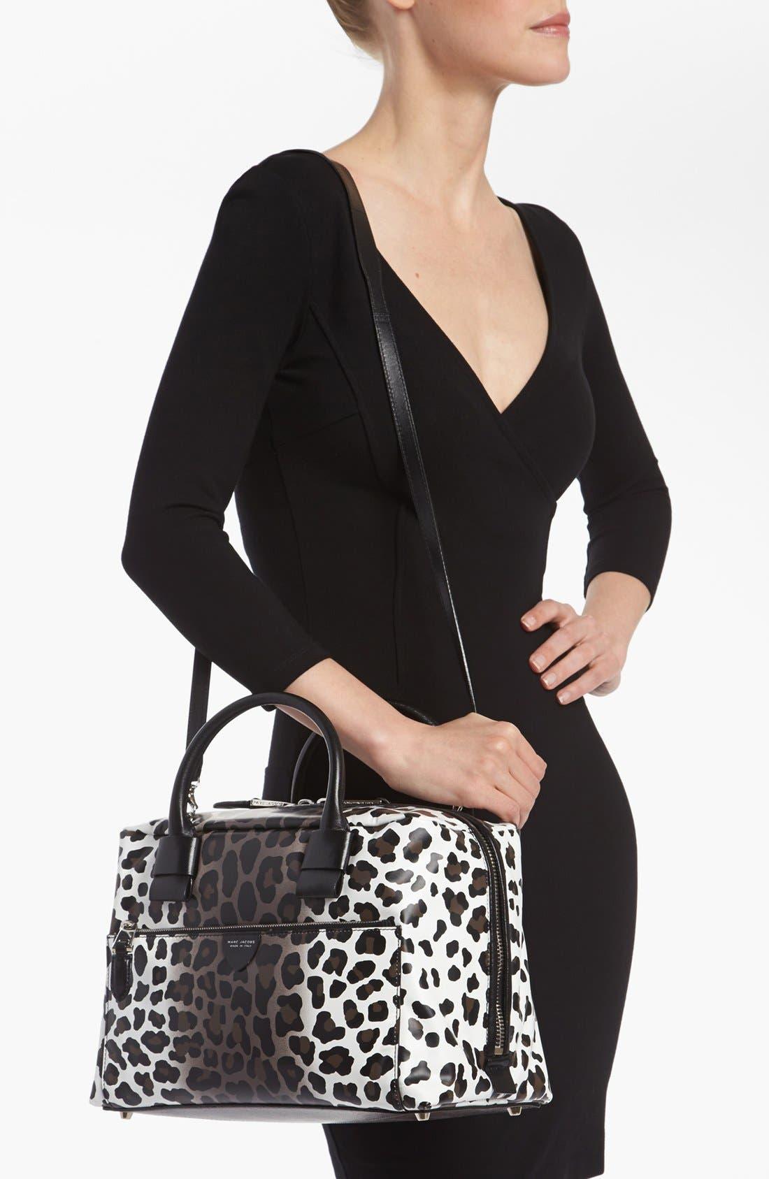 Alternate Image 2  - MARC JACOBS 'Small Antonia - Leopard' Leather Satchel