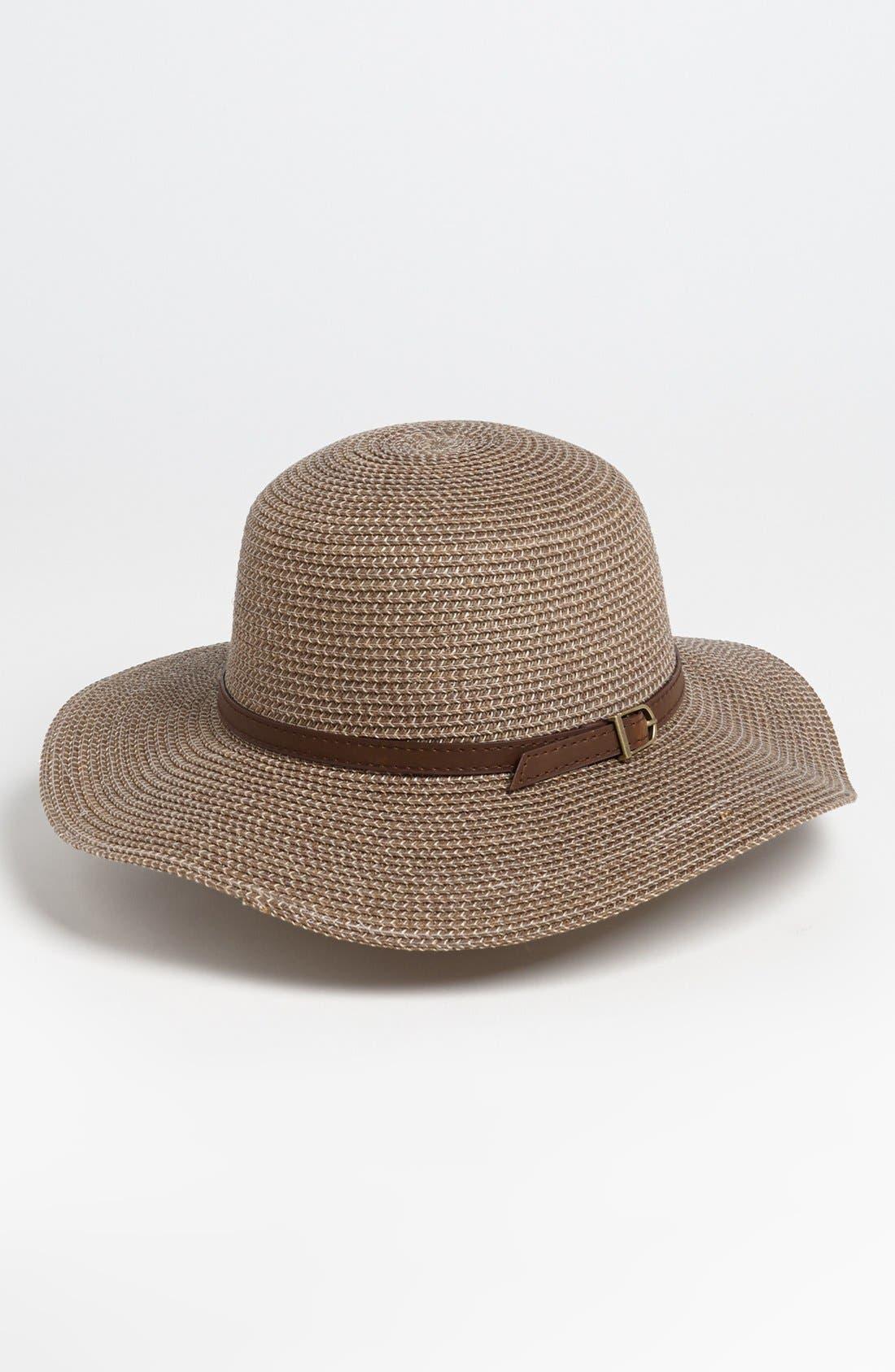 Alternate Image 1 Selected - Nordstrom Stone Wash Sun Hat