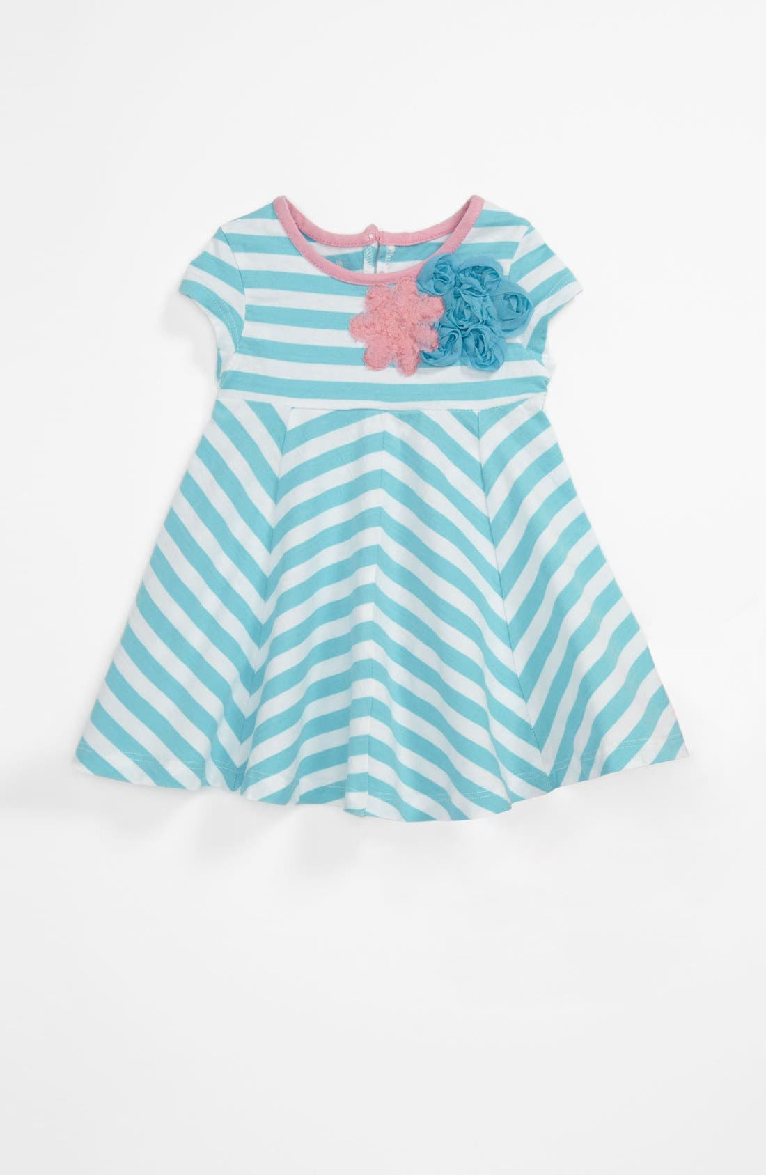 Alternate Image 1 Selected - Pippa & Julie Stripe Dress (Toddler)