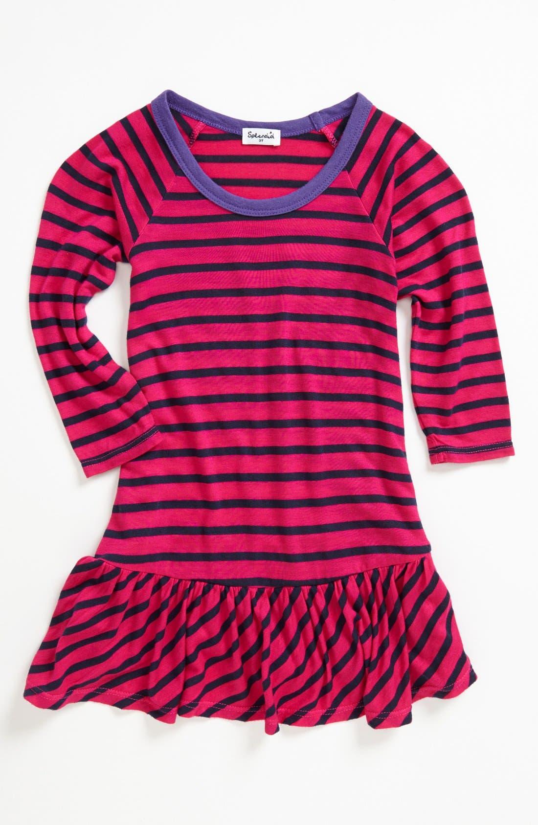 Alternate Image 1 Selected - Splendid Drop Waist Dress (Toddler Girls) (Online Only)