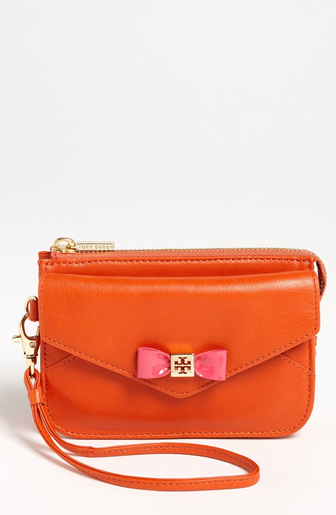 Alternate Image 1 Selected - Tory Burch 'Bow' Smartphone Wristlet