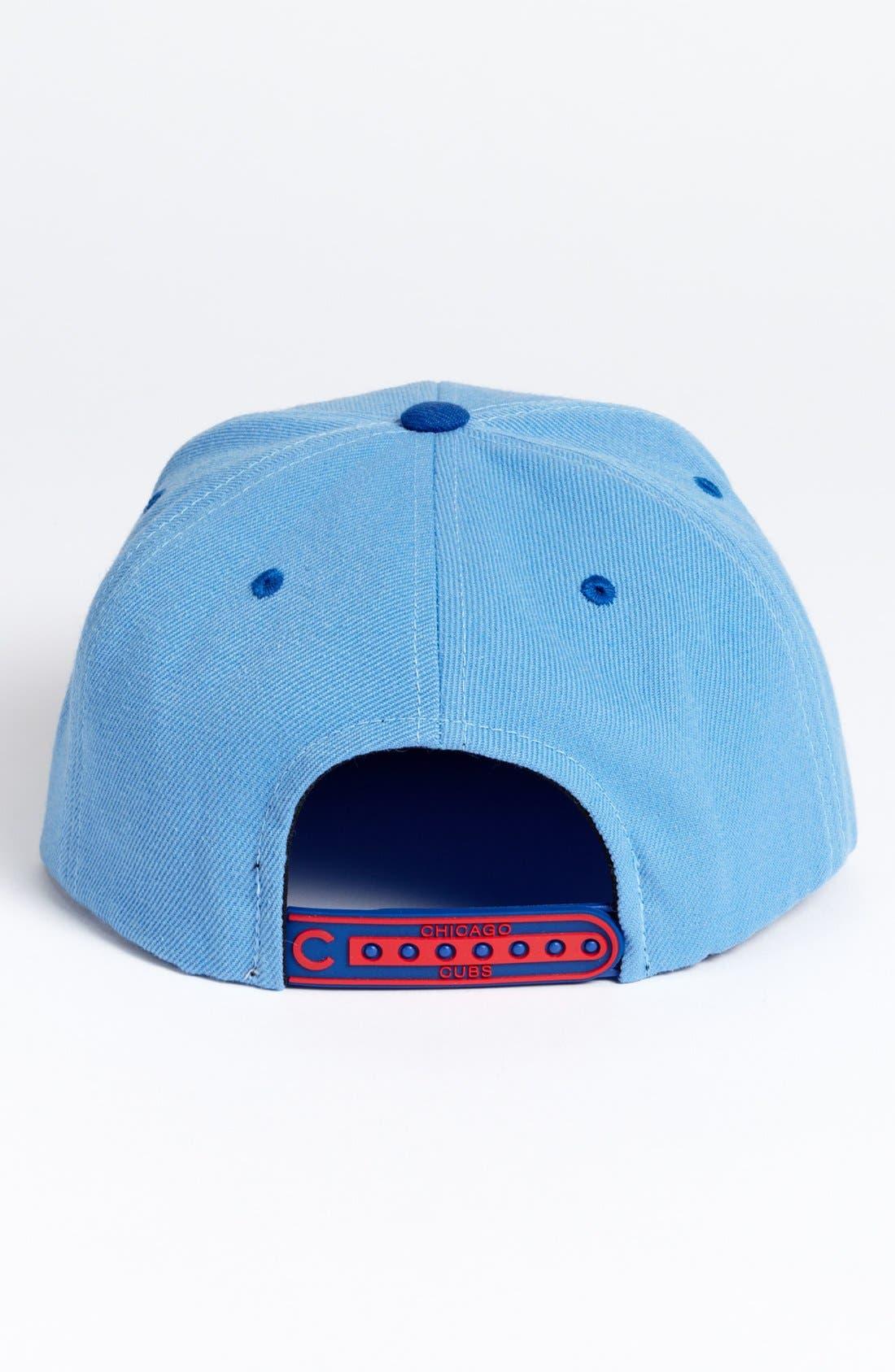Alternate Image 2  - American Needle 'Chicago Cubs - Back 2 Front' Snapback Baseball Cap