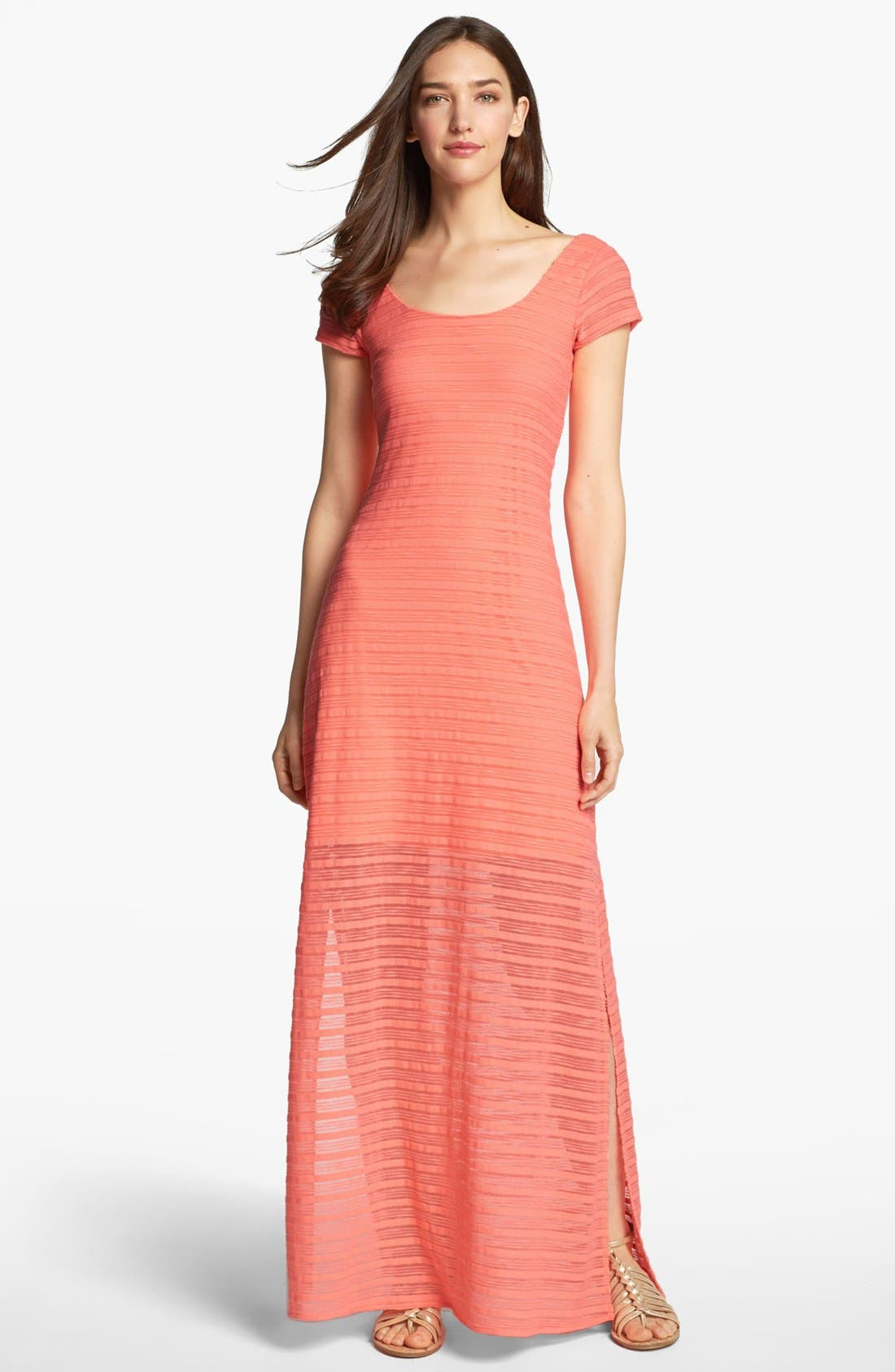 Alternate Image 1 Selected - Lilly Pulitzer® 'Ramsey' Textured Maxi Dress