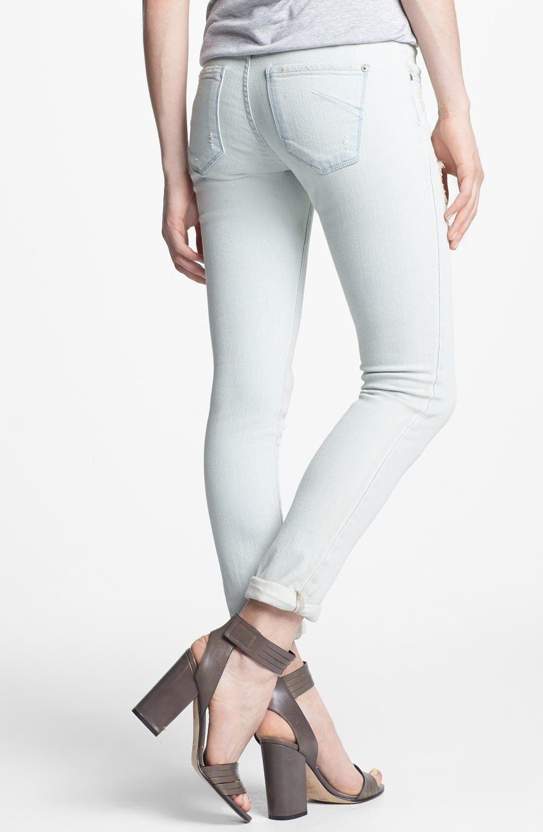 Alternate Image 2  - James Jeans 'Neo Beau' Distressed Boyfriend Jeans (Petite) (Online Only)