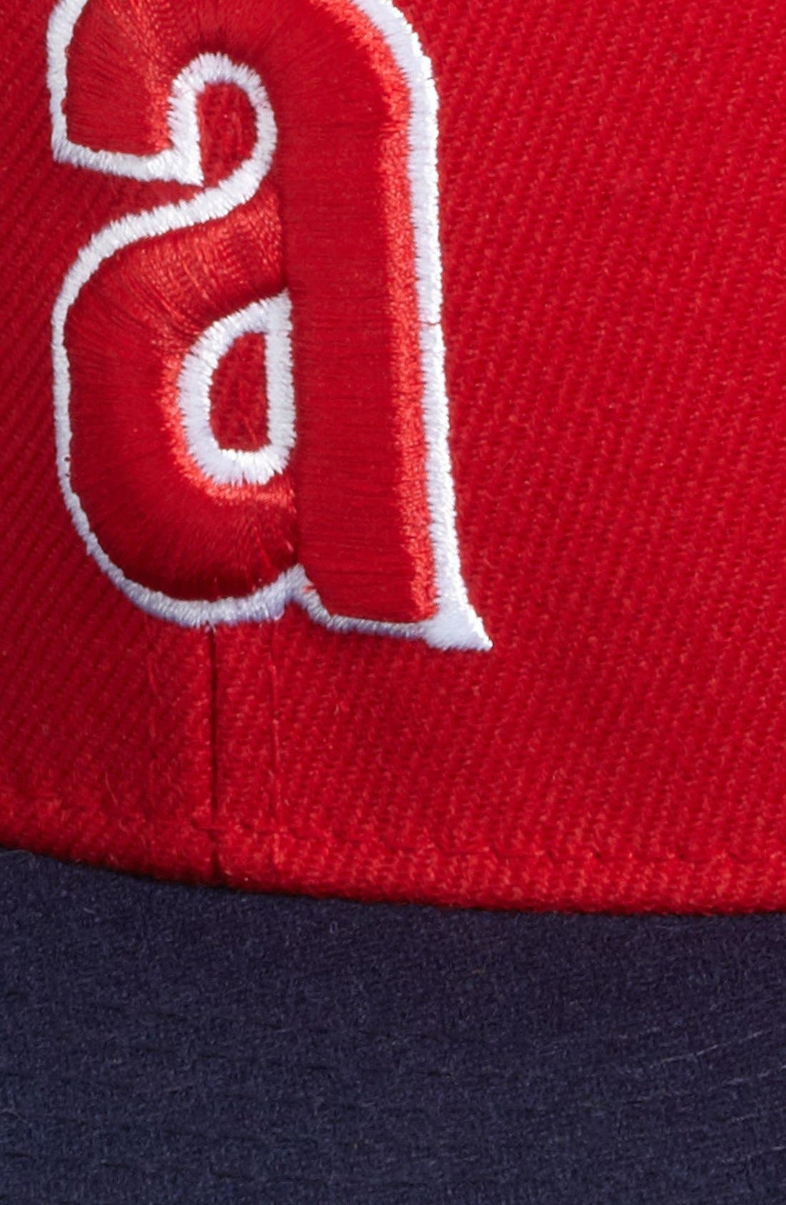Alternate Image 3  - American Needle 'Anaheim Angels - Back 2 Front' Snapback Baseball Cap