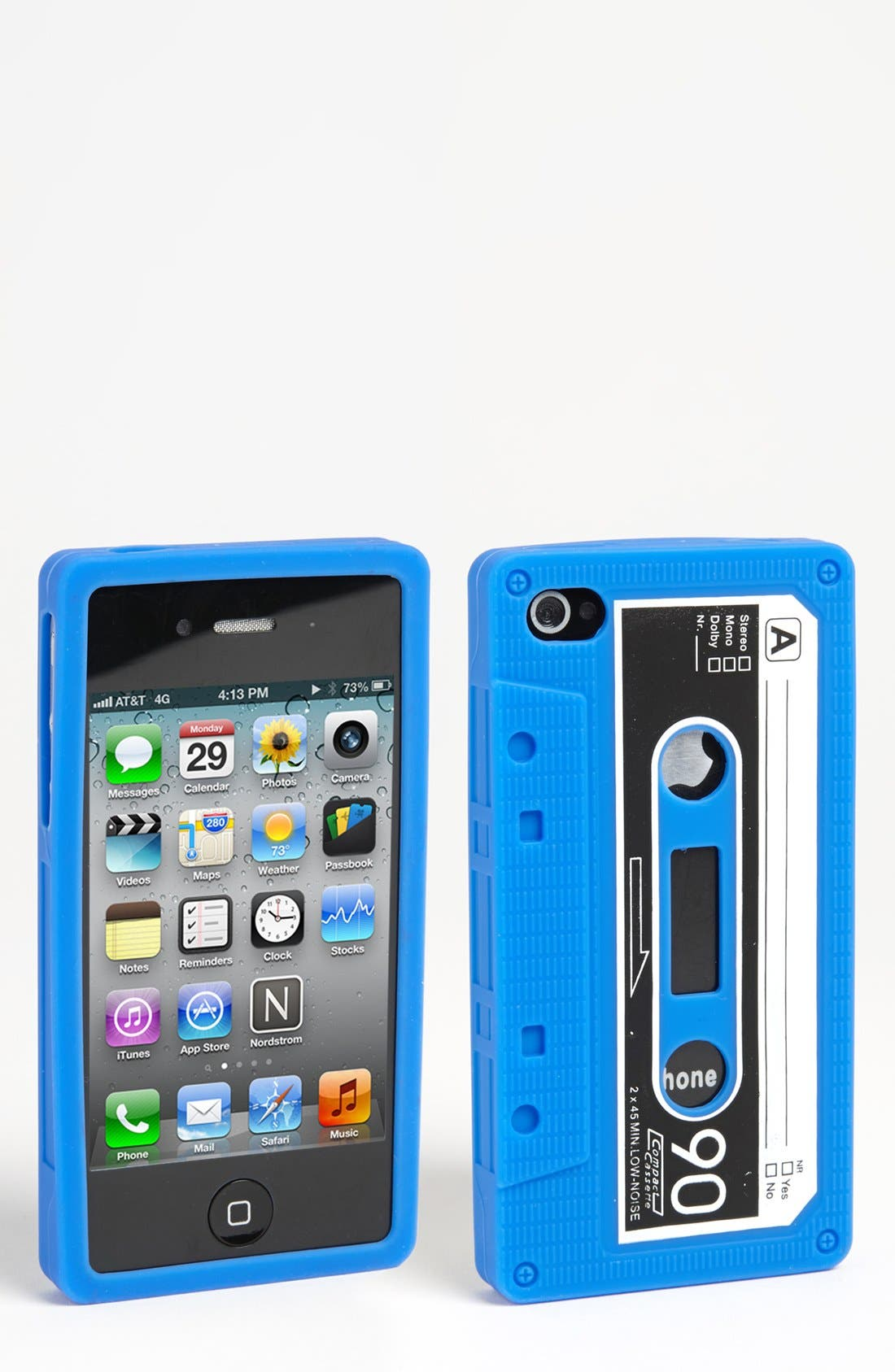 Alternate Image 1 Selected - ICover 'Cassette Tape' iPhone 4 & 4S Case