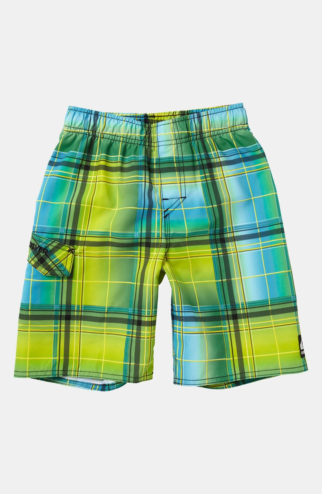 Alternate Image 1 Selected - Quiksilver 'Tronic' Board Shorts (Toddler Boys)