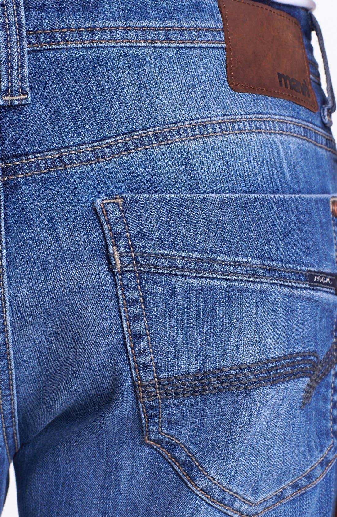 Alternate Image 4  - Mavi Jeans 'Matt' Relaxed Leg Jeans (Light Cooper)