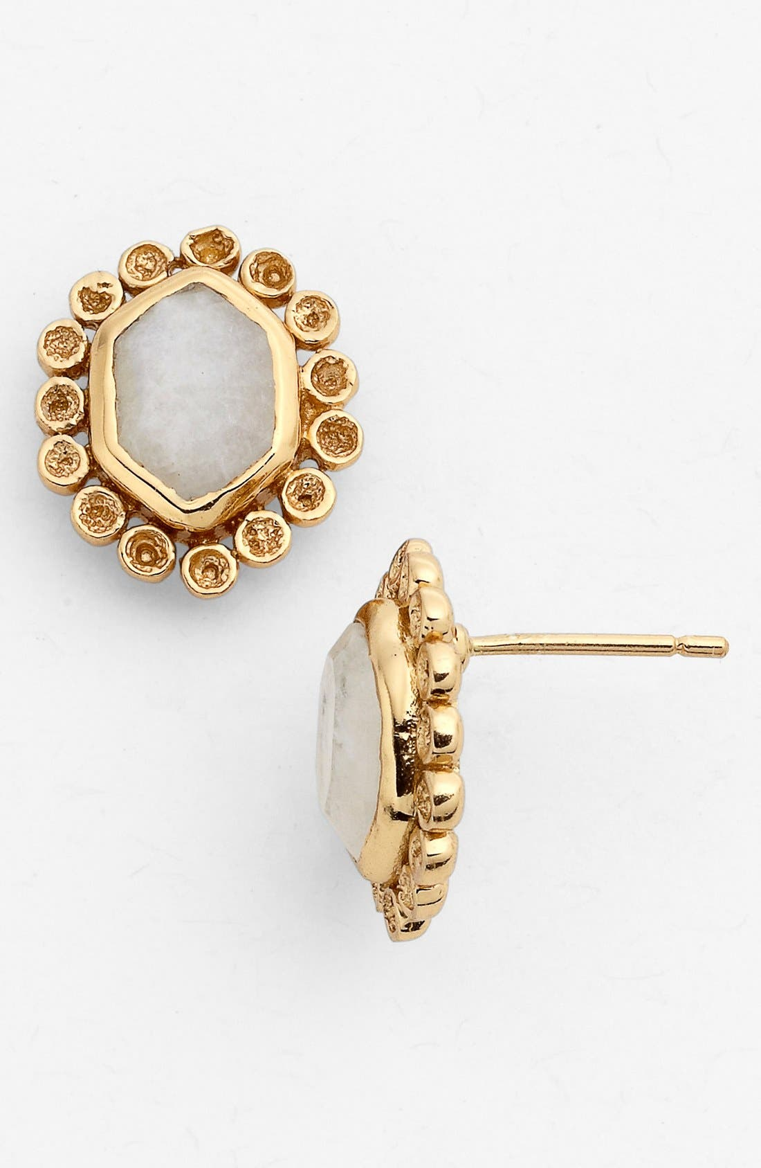 Alternate Image 1 Selected - Melinda Maria 'Alex Slice' Stud Earrings