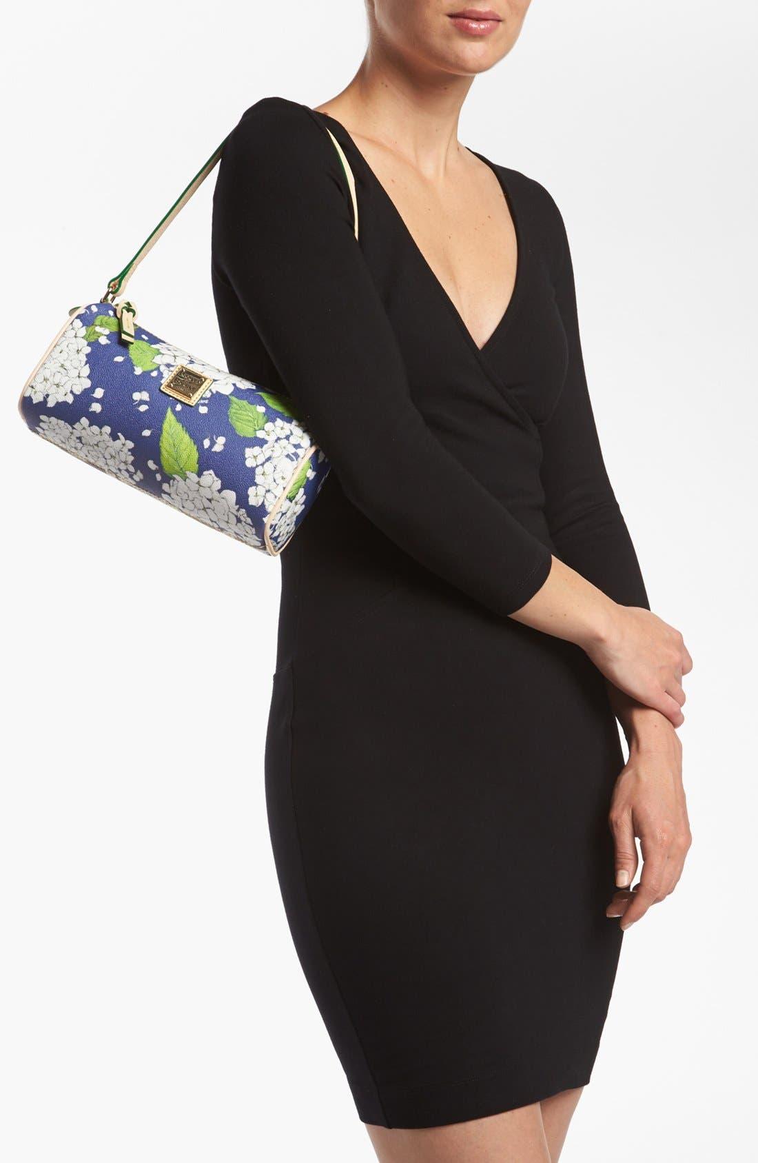 Alternate Image 2  - Dooney & Bourke 'Hydrangea - Small' Barrel Shoulder Bag