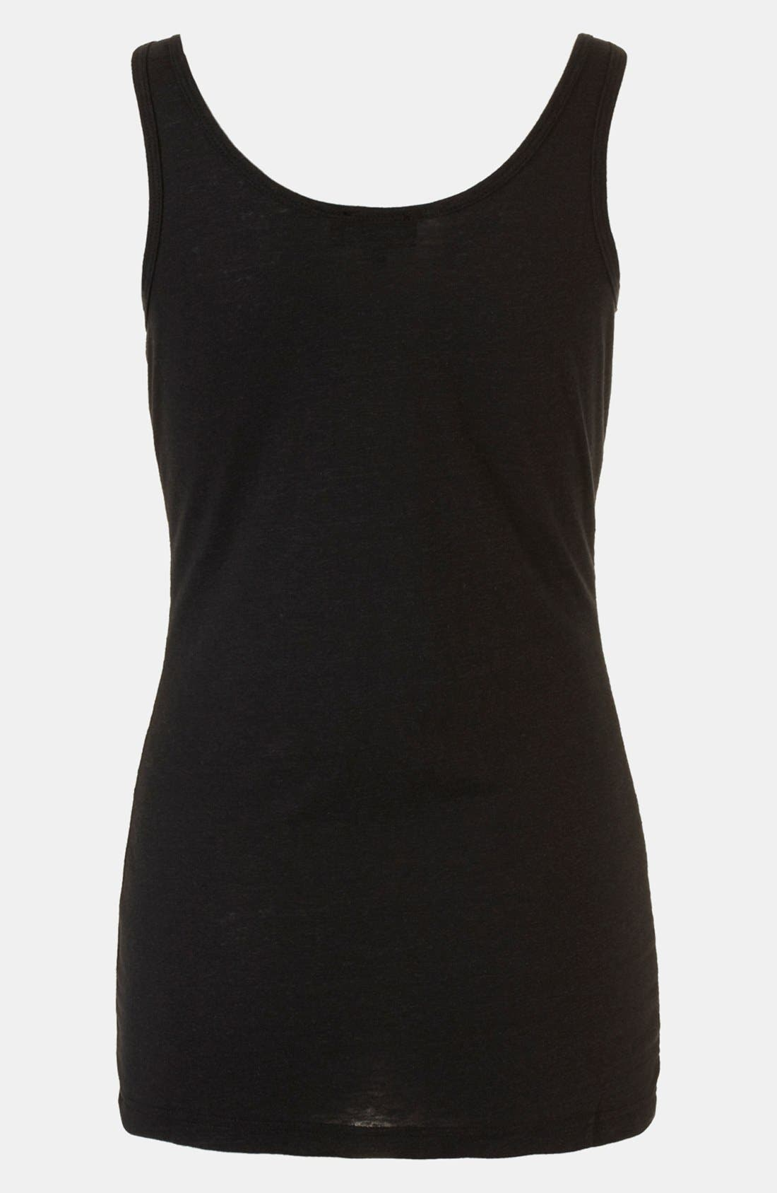Alternate Image 2  - Topshop 'Lana' Maternity Tank