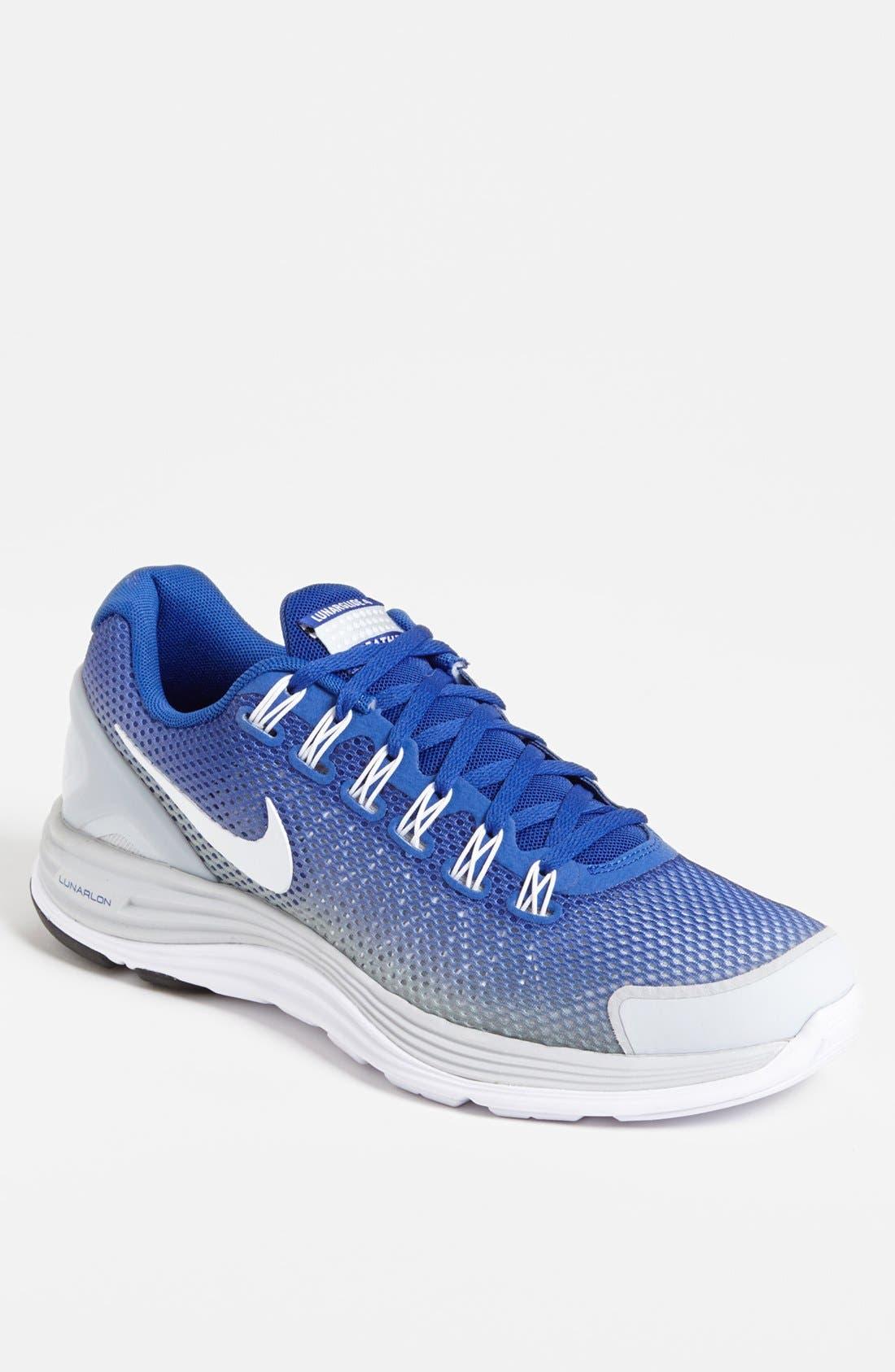 Alternate Image 1 Selected - Nike 'LunarGlide+ 4 Breathe' Running Shoe (Men)