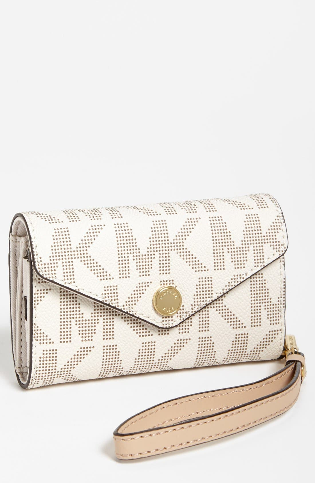 Alternate Image 1 Selected - MICHAEL Michael Kors iPhone 5 Wristlet
