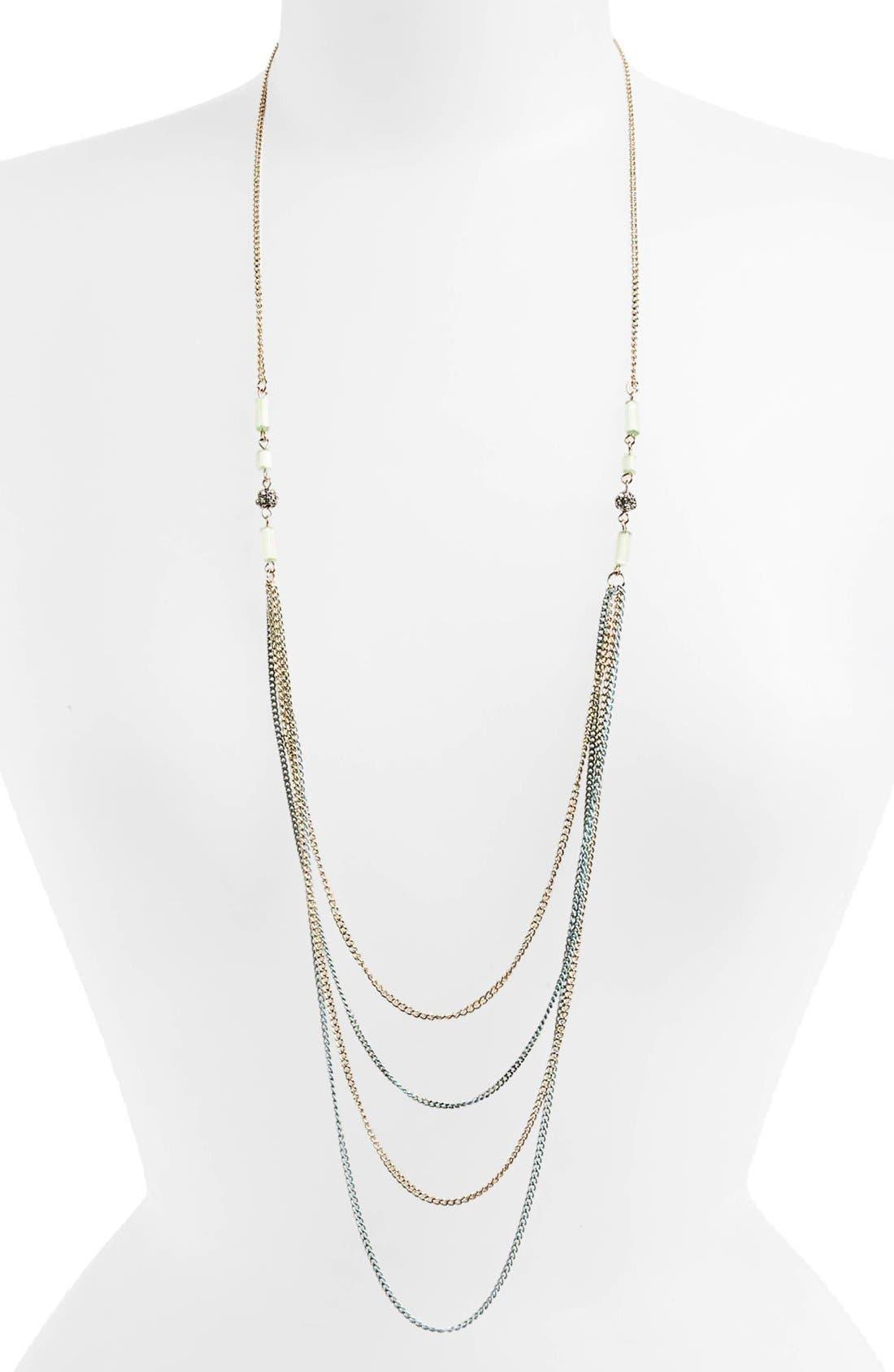 Alternate Image 1 Selected - Rachel Color Chain Necklace